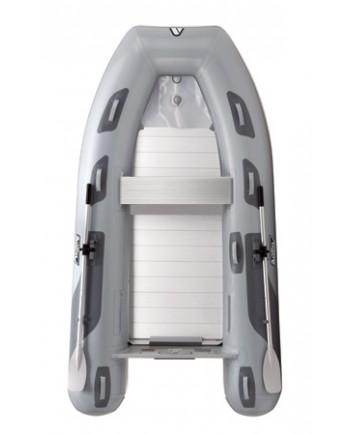 """Achilles LSR-290E, Rollup Aluminum Floor 9' 6"""", Gray Hypalon, 2020"""