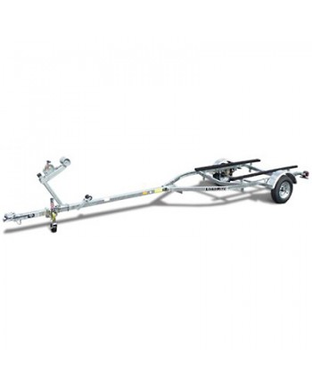 Load Rite Elite Series Single-Axle Galvanized Bunk Trailer 14 Inch