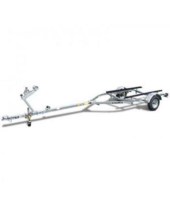 Load Rite Elite Series Single-Axle Galvanized Bunk Trailer 12 Inch
