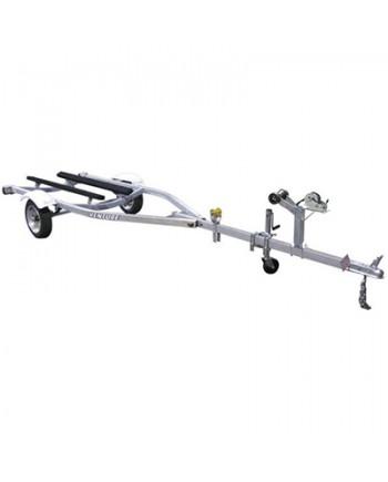 Venture Single-Axle Galvanized Bunk Trailer 1000 lbs 458480
