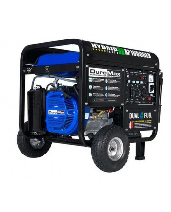 DuroMax XP10000EH - 8000 Watt Electric Start Hybrid Elite Dual Fuel Portable Generator