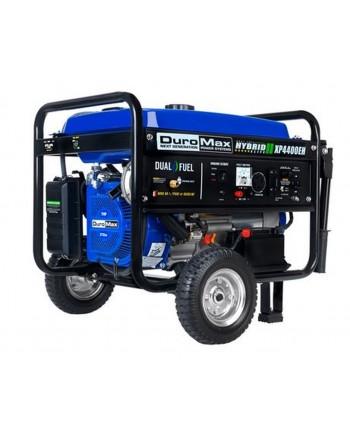 DuroMax XP4400EH 4,400-Watt Electric Start Dual Fuel Hybrid Portable Generator