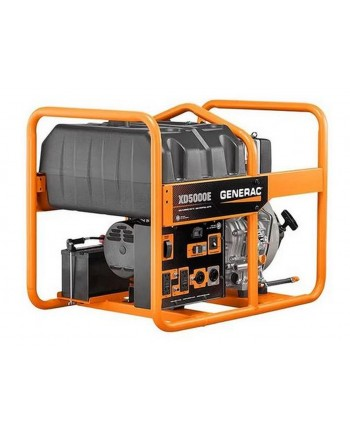 Generac XD5000E- 5000 Watt Electric Start Portable Diesel Generator (CARB)