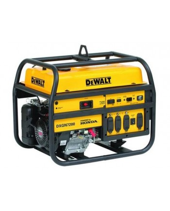 DeWalt DXGN7200 - 6100 Watt Electric Start Professional Portable Generator w/ Honda GX Engine