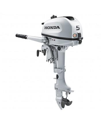 "2020 HONDA 5 HP BF5DHSHNA Outboard Motor 15"" Shaft Length"