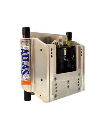 "TH Marine Atlas 10"" Jack Plate Standard Hydraulic Polished"