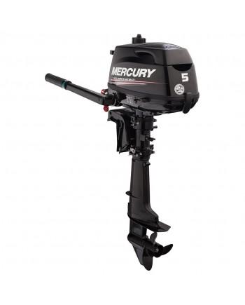 "2020 Mercury 5 HP 5MXLH Outboard Motor 25"" Shaft Length"