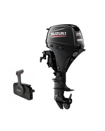 "Suzuki 20 HP DF20ATL2 Outboard Motor 20"" Shaft Length"