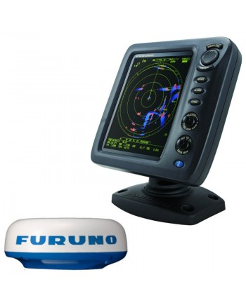 """Furuno 1815 8.4"""" Color Lcd 19"""" 4kw Radar W/10m Cable"""
