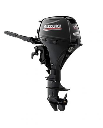 """Suzuki 15 HP DF15AEL2 Outboard Motor 20"""" Shaft Length"""