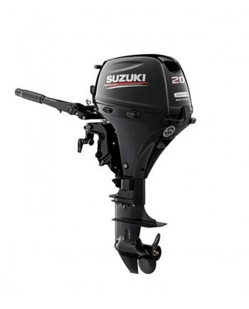 """Suzuki 20 HP DF20AEL2 Outboard Motor 20"""" Shaft Length"""