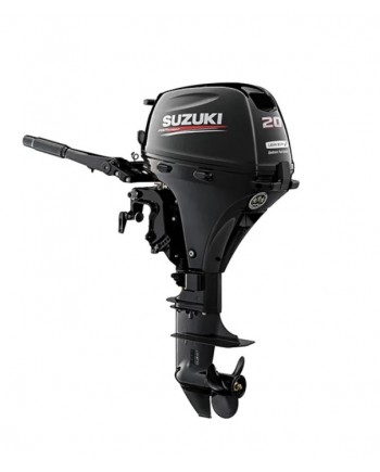 "Suzuki 20 HP DF20ATHL2 Outboard Motor 20"" Shaft Length"