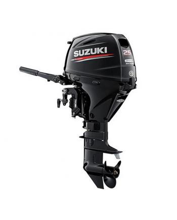 "Suzuki 25 HP DF25ATHS2 Outboard Motor 15"" Shaft Length"