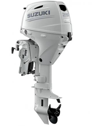 "Suzuki 25 HP DF25ATHSW2 Outboard Motor 15"" Shaft Length"