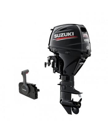 "Suzuki 25 HP DF25ATS2 Outboard Motor 15"" Shaft Length"