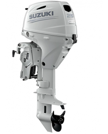 "Suzuki 25 HP DF25ATSW2 Outboard Motor 15"" Shaft Length"