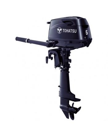 "2019 Tohatsu 5 HP MFS5CL Outboard Motor 20"" Shaft Length Long"