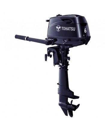 """2020 Tohatsu 6 HP MFS6CDS Outboard Motor 15"""" Shaft Length"""