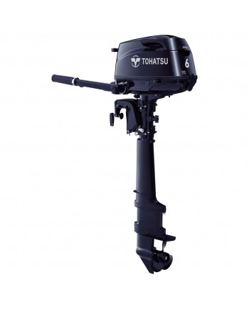 """2020 Tohatsu 6 HP MFS6CSPROUL SAIL PRO Outboard Motor 25"""" Shaft Length"""