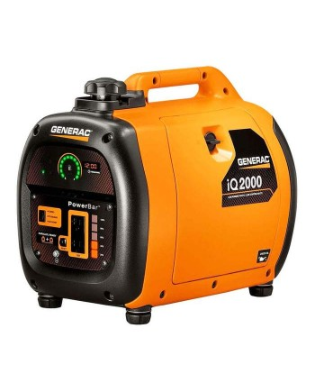 Generac 6866 iQ2000 2,000-Watt Recoil Start Portable Generator