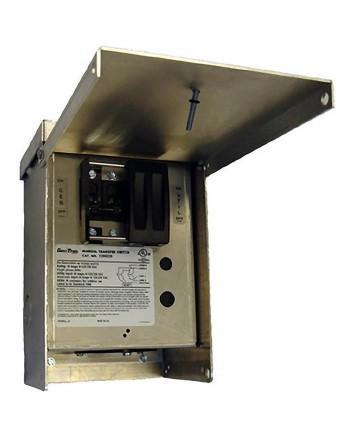 Generac GNC-6377 30-Amp 120/240V 1-Circuit Outdoor Manual Transfer Switch Nema 3R